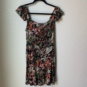 Target Floral Fit and Flare Dress
